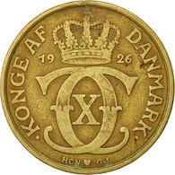Danemark, Christian X, 2 Kroner, 1926, Copenhagen, TB+, Aluminum-Bronze - Dänemark