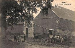 Omal - La Ferme Dallemagne (animée, Attelage, Cheval, Edit. Henri Kaquet) - Geer