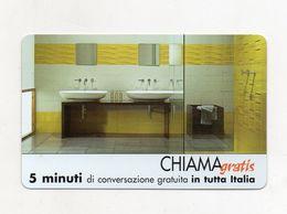 Telecom - Scheda Chiama Gratis - 2003 - LEA CERAMICHE - 5 Minuti Di Conversazione Gratuita - NUOVA - (FDC7669) - Italy
