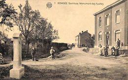 Romsée - Soxhluse Monument Des Fusillés (animée, Photo Belge Lumière) - Fléron
