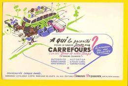 BUVARD  : Jouer Aux Carrefours  Edit. Dujardin - Automobile
