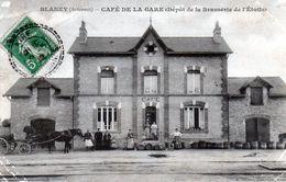Cpa (08)--blanzy -- Cafe De La Gare (dèpot De La Brasserie De L'ètoile) - France