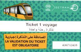 Tramway  De Sidi Bel-Abbès (Algérie) - Tram