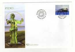 Enveloppe 1er Jour ALAND Oblitération MARIEHAMN 03/05/2002 - Aland