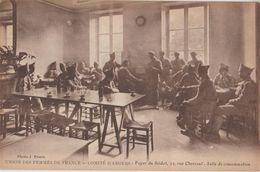 49 Angers Cpa Ww1 Union Des Femmes De France Comité Foyer Du Soldat édit Photo J.Evers Tbe - Angers