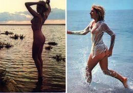 2 Cartes Femmes Nues. - Pin-Ups