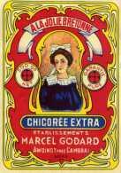 Etiquette Chicorée / A La Jolie Bretonne /  Chicorée Extra / Etablissements Marcel Godard Awoingt Près Cambrai - Sonstige