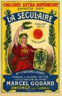 Etiquette Chicorée /  LA SECULAIRE (poids Net 100g) - Other Collections