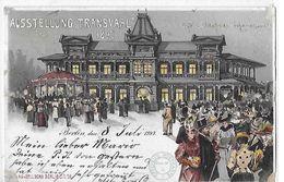 TRANSVAAL   AUSSFELLUNG TRANSVAKLL  1897   CARTE N 9 OFFICIELLE   COULEURS CAFE CLUB HOUSE JOHANN  Defaut Papier 2 Choix - Monde
