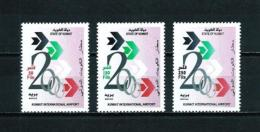 Kuwait  Nº Yvert  1539/41  En Nuevo - Kuwait