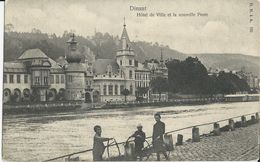 Dinant    Hôtel De Ville Et La Nouvelle Poste   -   1900  Naar   Schaerbeek - Dinant