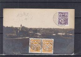 Lettonie - Carte Postale De 1926 - Oblit Ambulant Stende Mazirbe Un Otr - Exp Vers Archennes - Lettonie