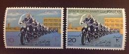 Kuwait 1969 Traffic Day Motorcycles MNH - Kuwait