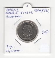 Belgique. Albert II. 50 FB Euro 2000 VL. SUP - 1993-...: Albert II