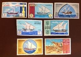 Kuwait 1970 Sailing Dhows MNH - Kuwait