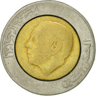 Maroc, Al-Hassan II, 5 Dirhams, 1987, Paris, TTB, Bi-Metallic, KM:82 - Morocco