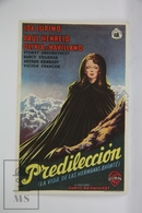 1946 Cinema/ Movie Advertising Leaflet - Devotion - Ida Lupino,  Paul Henreid,  Olivia De Havilland - Cinema Advertisement
