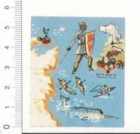 Image Margarine Céma Islande Atlas Du Monde Amérique Nord N° 8 Viking ? Kayak Narval Reykjavik Cheval Volcan IM09DIV2 - Poulain