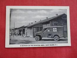 US Military Ambulance  Camp Kilmer  NJ  Ref 2810 - Equipment