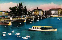 SUISSE - GENEVE - PONT DU MONT BLANC - GE Genève