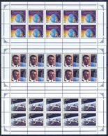 Kazakhstan 1996 Cosmonautics Day. Gagarin. 3 Sheetlets** - Kazakhstan