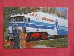 Atlas Van Lines World Wide Movers  Ref 2810 - Trucks, Vans &  Lorries
