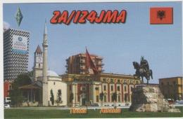 Qsl Albanie - Tirana - Radio Amateur