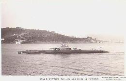 Sous Marin   66          Sous Marin  Calypso - Sous-marins