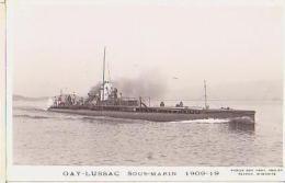 Sous Marin   78          Sous Marin  Gay Lussac - Submarines