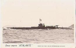 Sous Marin   95          Sous Marin  Atalante - Sous-marins