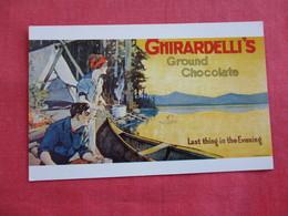 Ghirardelli Square Chocolate San Fran -CA Ref 2810 - Advertising