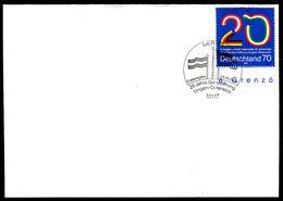 01469) BRD - Michel 2759 - FDC -70C  Grenzöffnung Zwischen Ungarn Und Österreich - [7] República Federal