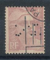 718 Marianne De Gandon 4f Violet Clair (o) Perforé - France