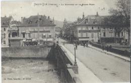 SAINT DIE (88) La Meurthe Et Le Grand Pont CPA Ayant Circulé En 1932 - Saint Die