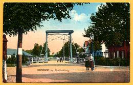 Bussum - Brediusbrug - Animée - NAUTA - Colorisée - Bussum