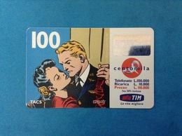 ITALIA SCHEDA TELEFONICA RICARICARD TIM USATA USED PHONE CARD - FLASH GORDON 100.000 LIRE SCAD. NOV 2000 - Italy