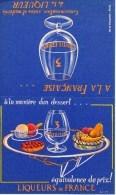 Ancien Menu Publicitaire - Liqueur SEVE FOURNIER - SAINT AMAND (Cher) - Menu