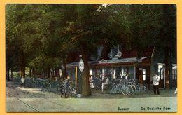 Bussum - De Gooische Boer - Restaurant - Halte - Bicyclette - Animée - Colorisée - Bussum