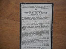 D.P.-FREDERIK DE MUYNCK °AALTER 13-5-1829+KNESSELARE 19-2-1919 - Religion & Esotericism