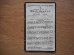 D.P.-JULIA CLAEYS °KNESSELARE 22-9-1834+ALDAAR 22-5-1914 - Religion & Esotericism