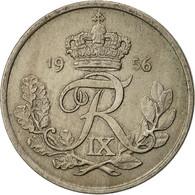 Danemark, Frederik IX, 25 Öre, 1956, Copenhagen, TTB, Copper-nickel, KM:842.2 - Denmark