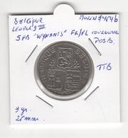 "Belgique. Léopold III°. 5 FB ""Wynants"" 1938 FR/FL Couronne, POS B. Morin # 454b. TTB - 1934-1945: Leopold III"