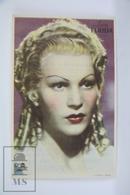 Old Cinema/ Movie Advertising Leaflet - Actress: Luisa Ferida - Cinema Advertisement