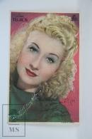 Old Cinema/ Movie Advertising Leaflet - Actress: Lina Yegros - Cinema Advertisement