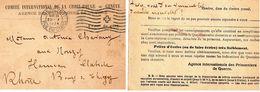 Document-CP- Agence Des Prisonniers De Guerre- GENEVE- - Documents