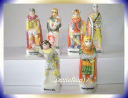Grandes Figures De L'Histoire  ...6 Fèves .. Ref AFF : 50-1997..  ( Pan 0041) - Characters