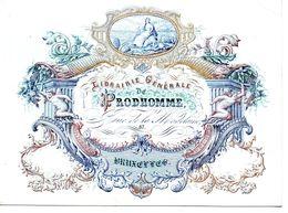 Bruxelles : Carte Porcelaine Librairie Prodhomme  17,5 X 12,5 Cm - Andere