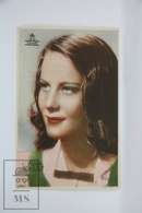 Old Cinema/ Movie Advertising Leaflet - Actress: Alida Valli - Cinema Advertisement