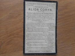 D.P.-ALIDA CORYN°KNESSELARE 7-8-1889+ALDAAR 1-8-1909 - Religion & Esotericism