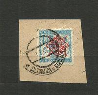 1919 S.H.S.YUGOSLAVIA -  SLOVENIA - VERIGARJI -  15vin./20vin Used.SV.Trojica -Slov.Gor. - 1919-1929 Regno Dei Serbi, Croati E Sloveni